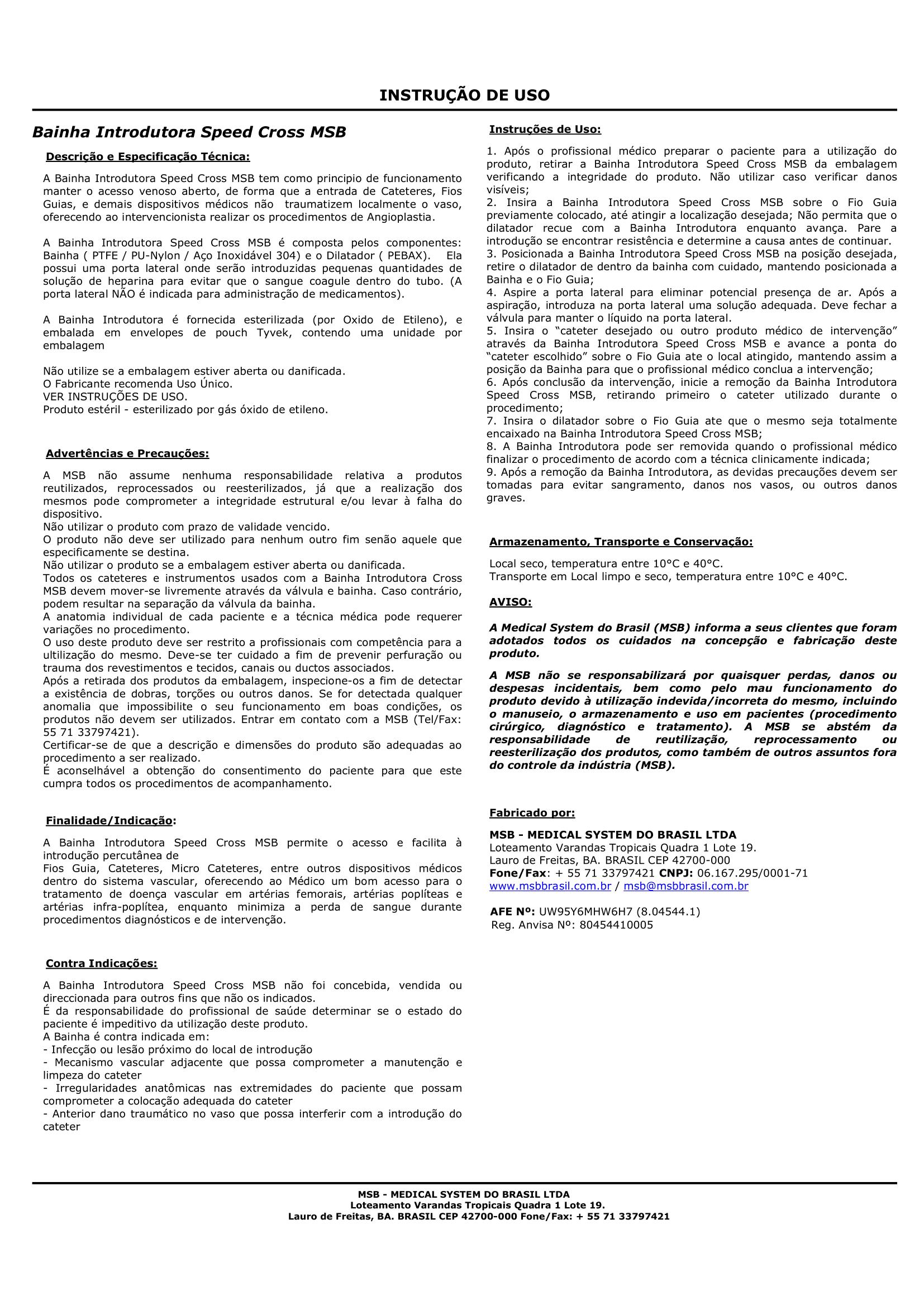 Instruções de uso – Separado – Final reg ANVISA